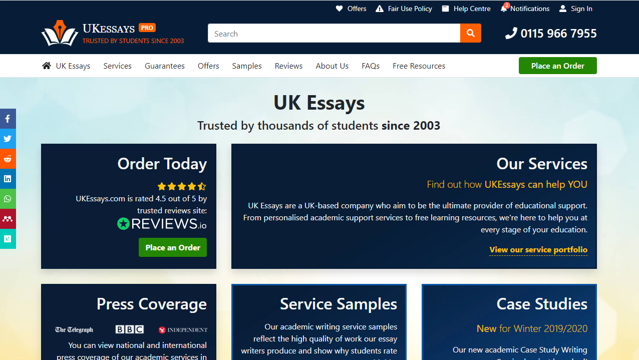 UKEssays.com Review