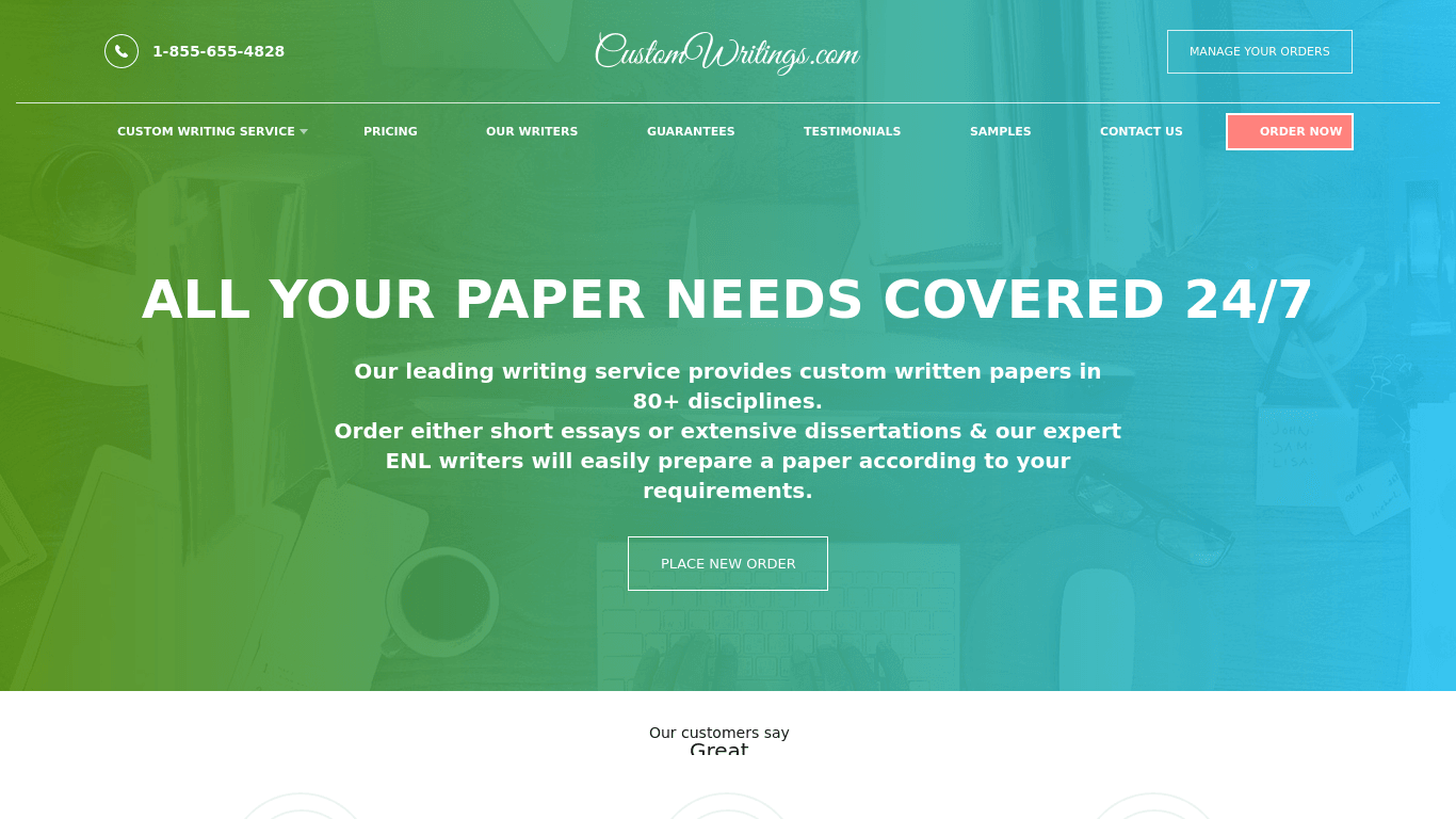 Custom Writing Com