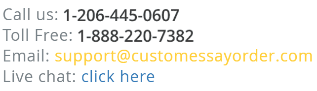 CustomEssayOrder.com Support