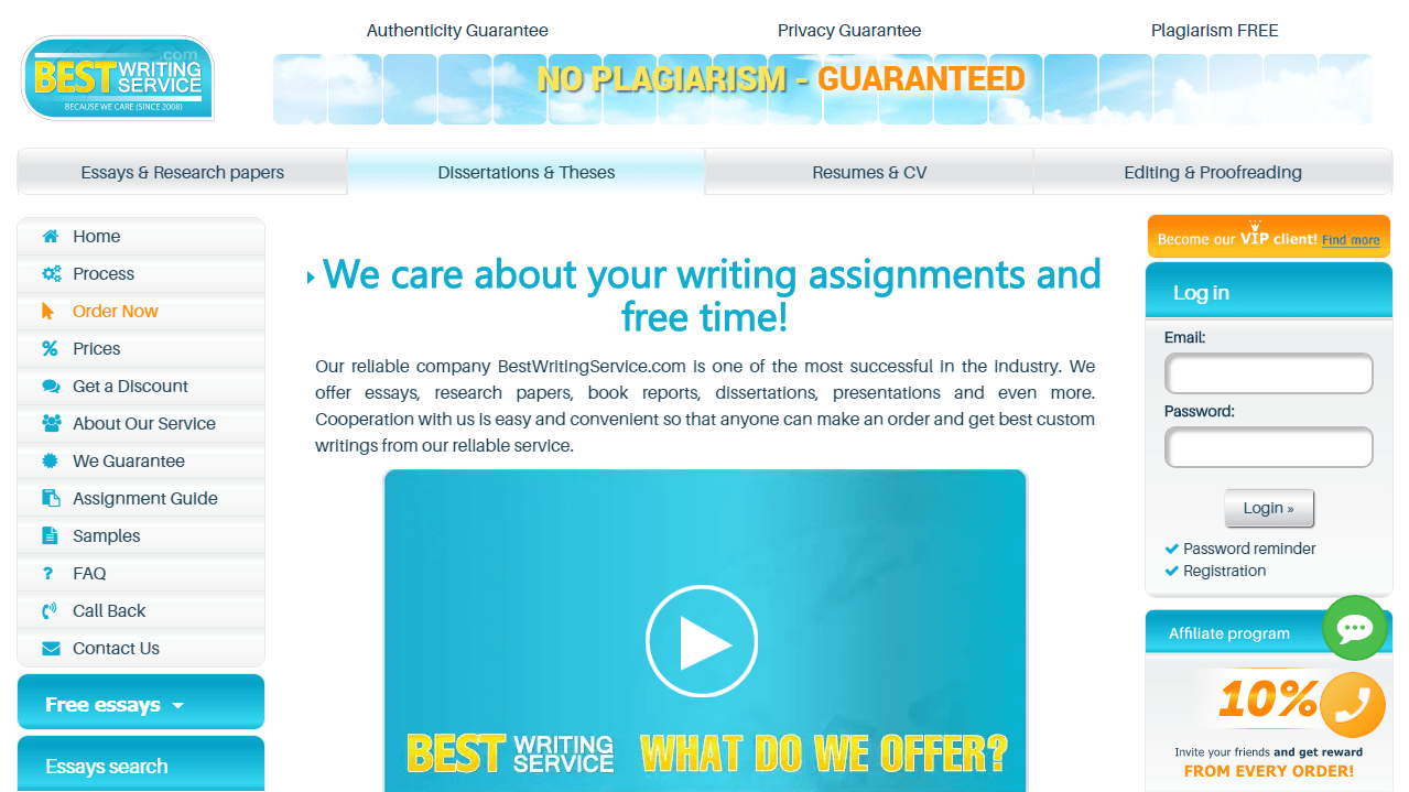 BestWritingService.com Review