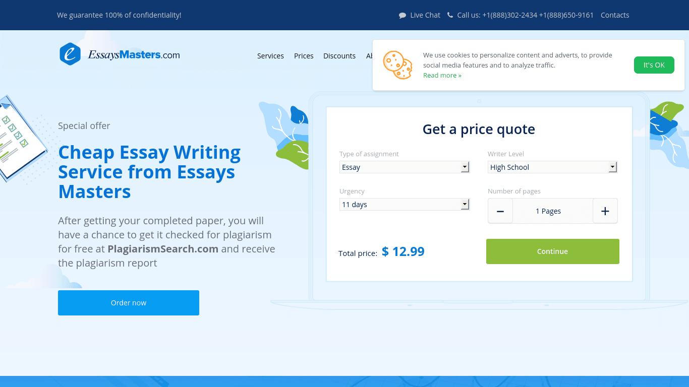 EssaysMasters.com Review