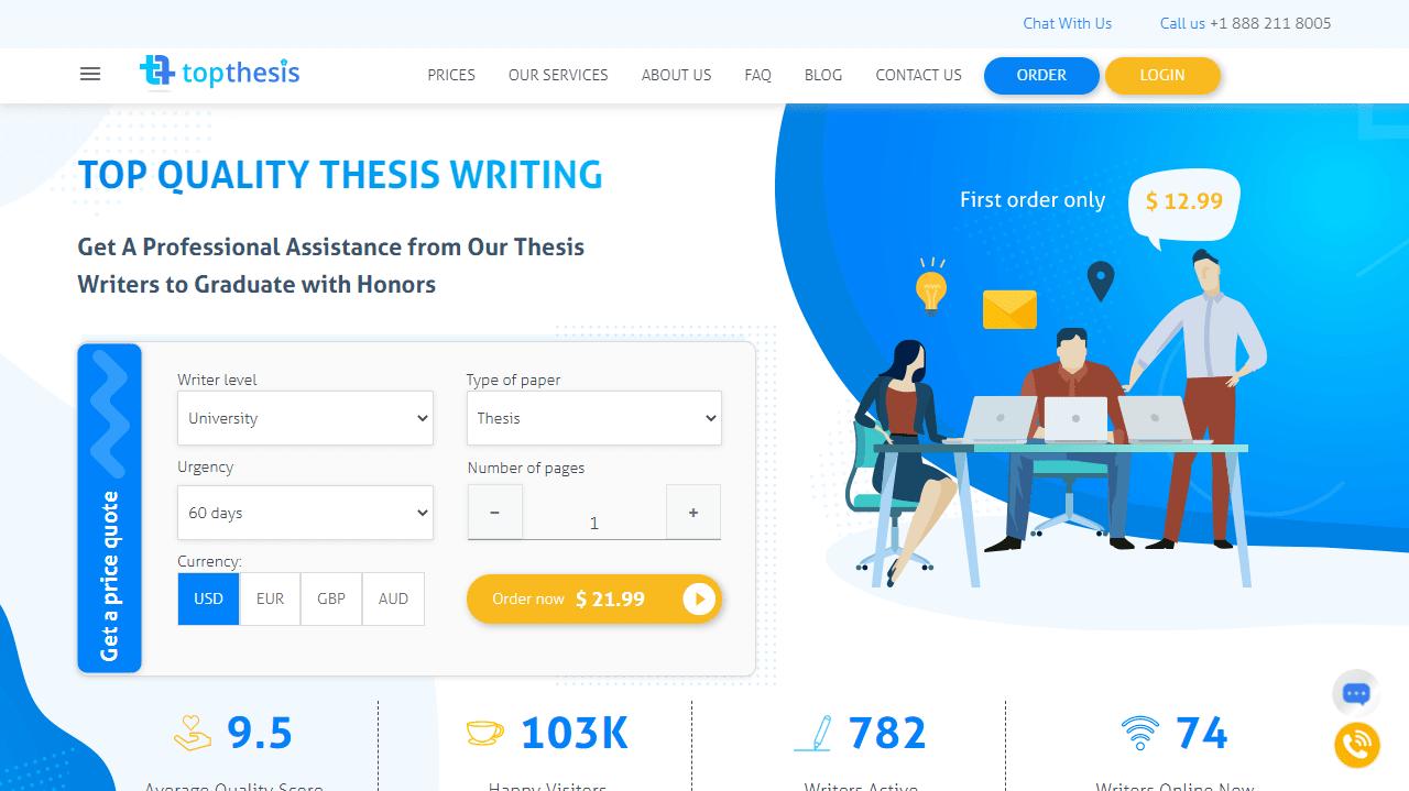 TopThesis.com Review