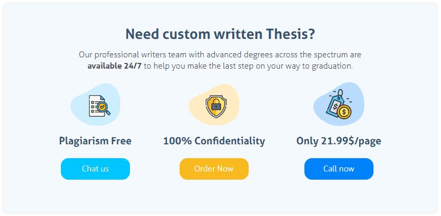 TopThesis.com Guarantees