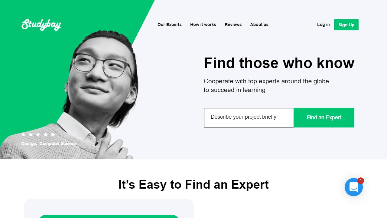 StudyBay.com Review: Quality, Prices, Usability